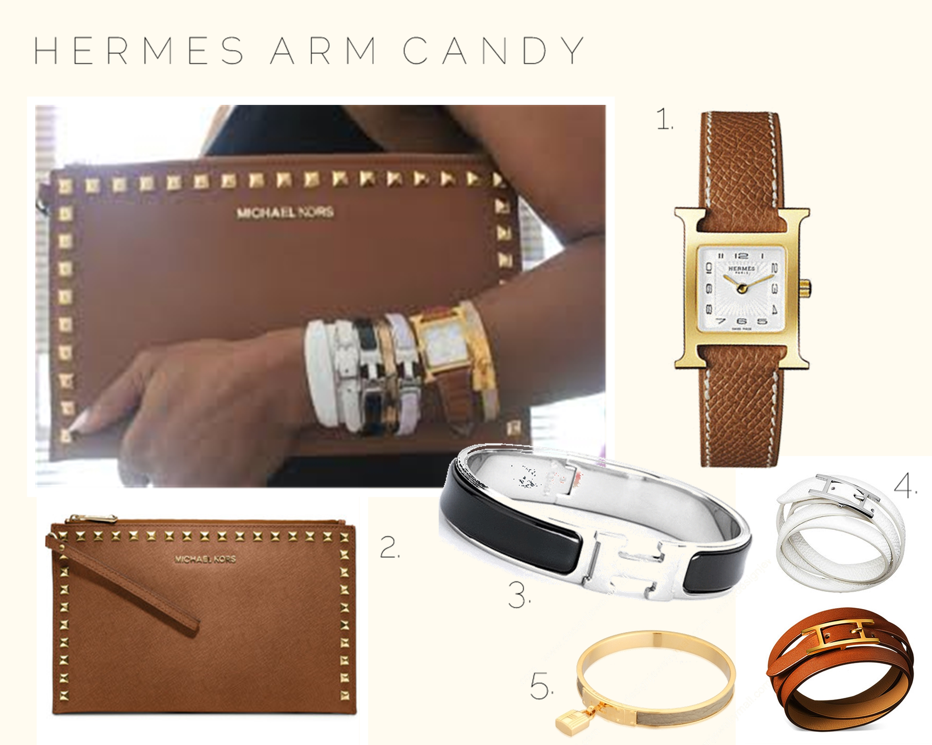 Hermes Kelly Mm Bracelet