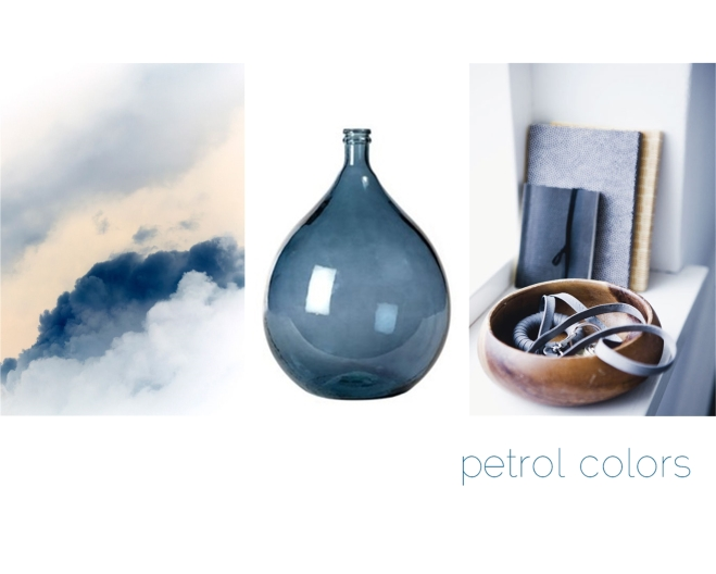 Petrol colors by Myra Madeleine