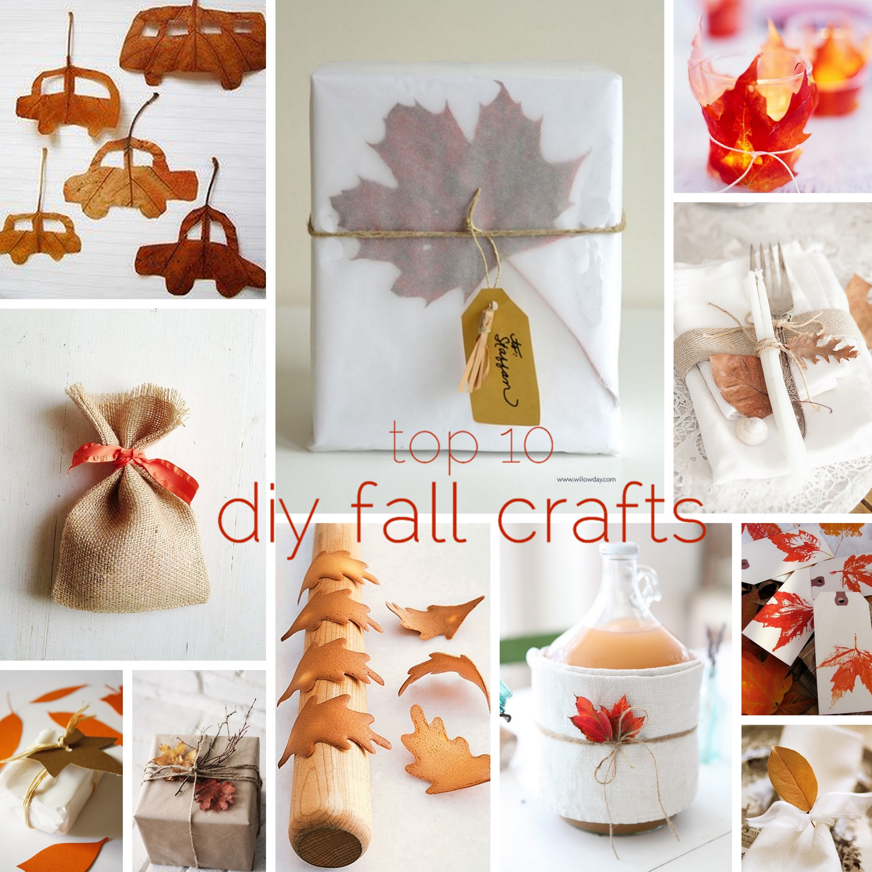 top 10 diy crafts for fall