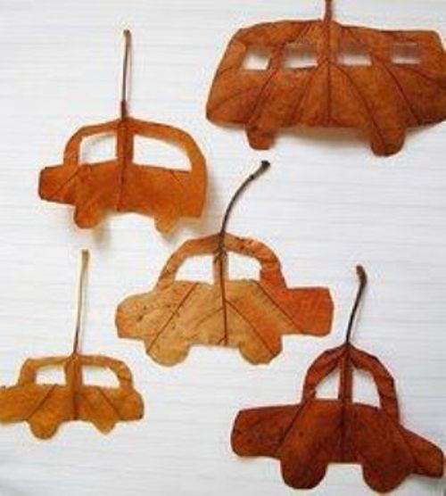 cut out leaves for fall
