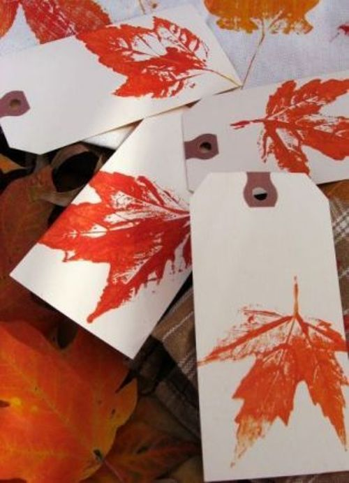 gift tags for fall