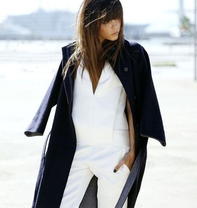oversize coat trend - by Myra Madeleine