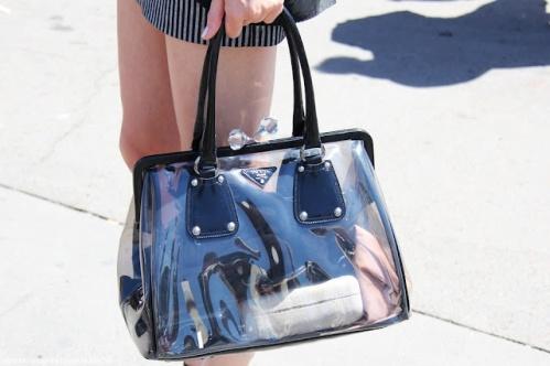 transparent clutches - by Myra Madeleine