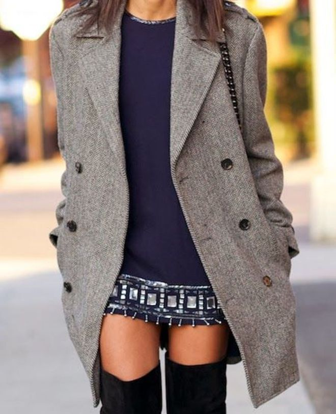 ways to wear over the knee boots