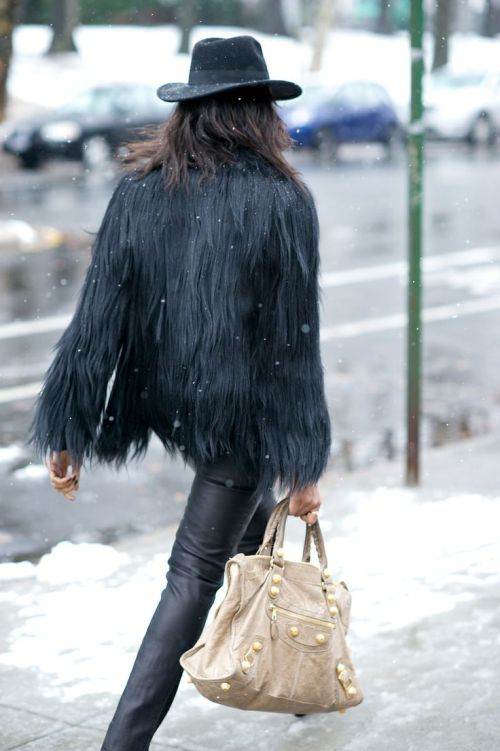 Winter must have: fuzzy vest by Myra Madeleine