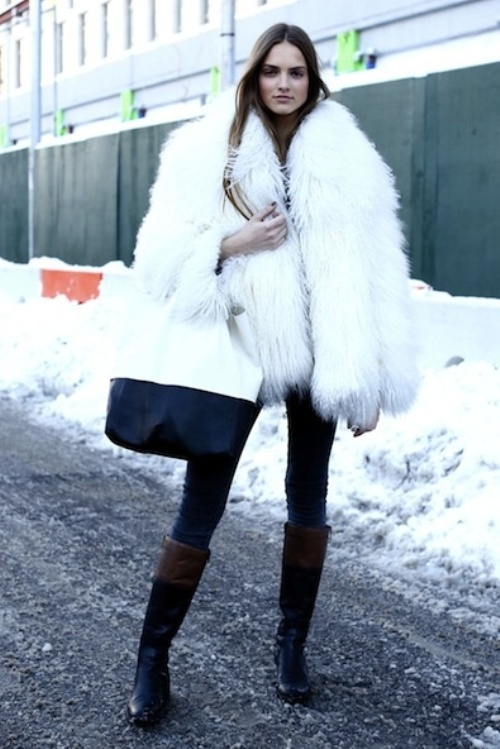 winter must have : the fuzzy vest by Myra Madeleine