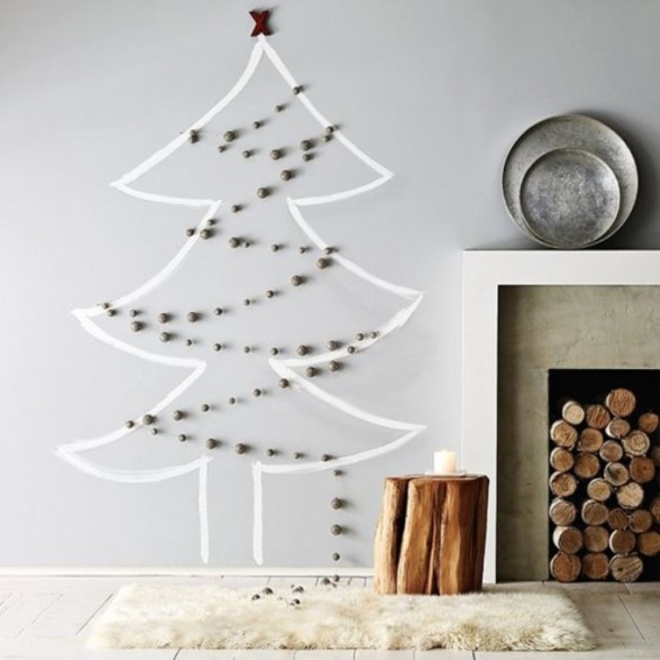 Holiday wall decal