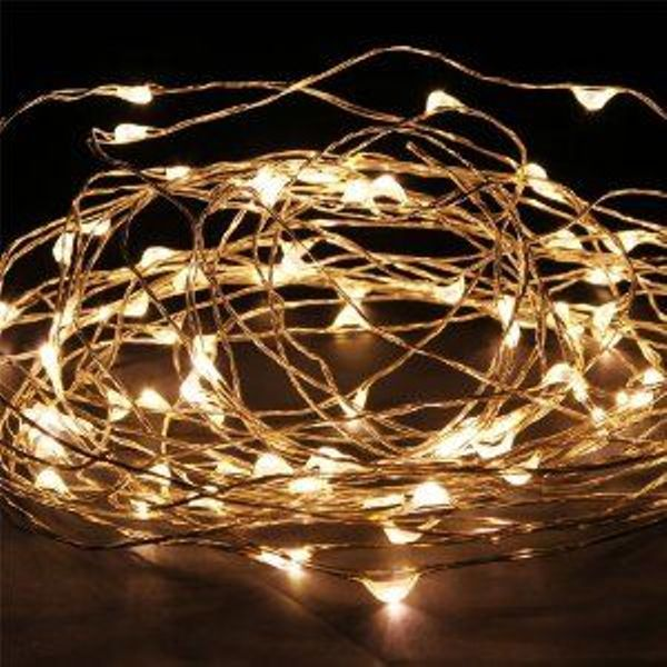 Ways to decorate with starry string lights - by Myra Madeleine
