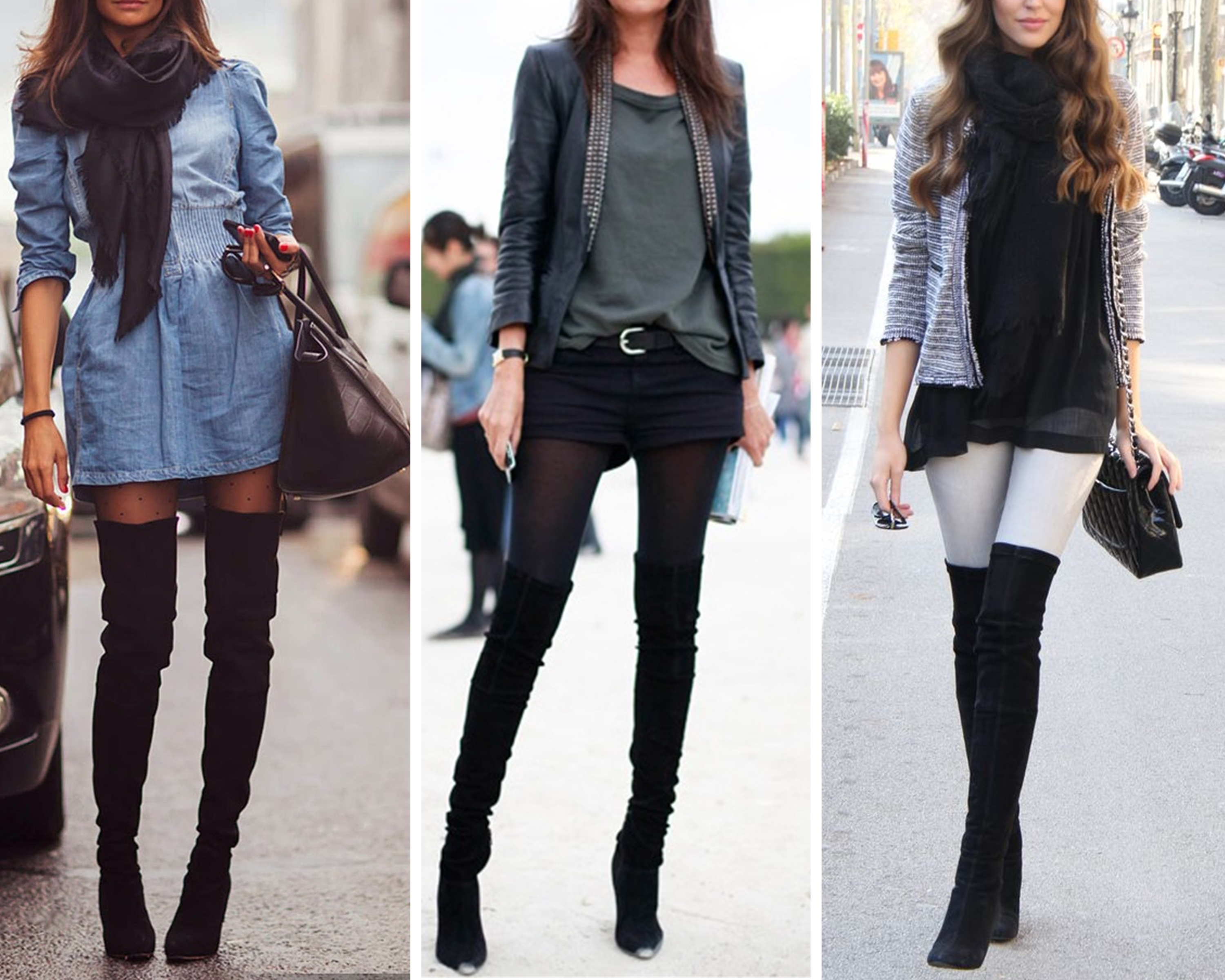 See 5 Ways to Wear Over the Knee Boots