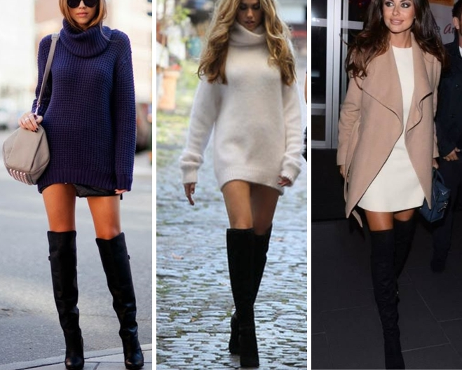 ways to wear over the knee boots - by Myra Madeleine