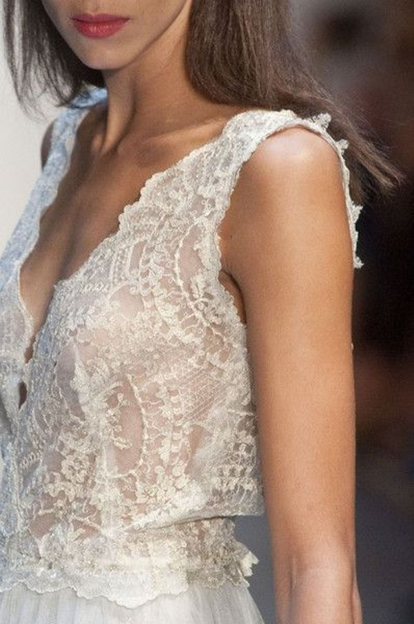 white lace trend s14 - by Myra Madeleine