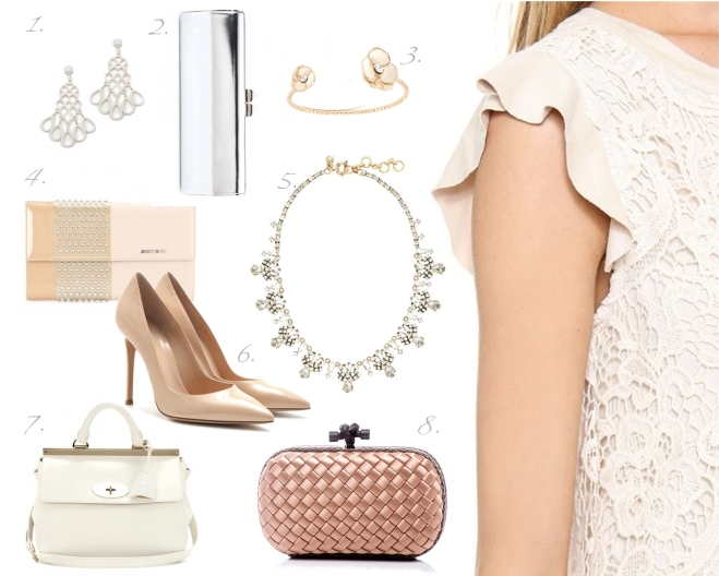 accessories to match your 'all white spring 2014' outfit - by Myra Madeleine