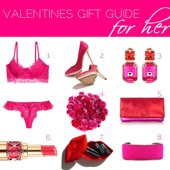 Valentines gift guide for her - by Myra Madeleine