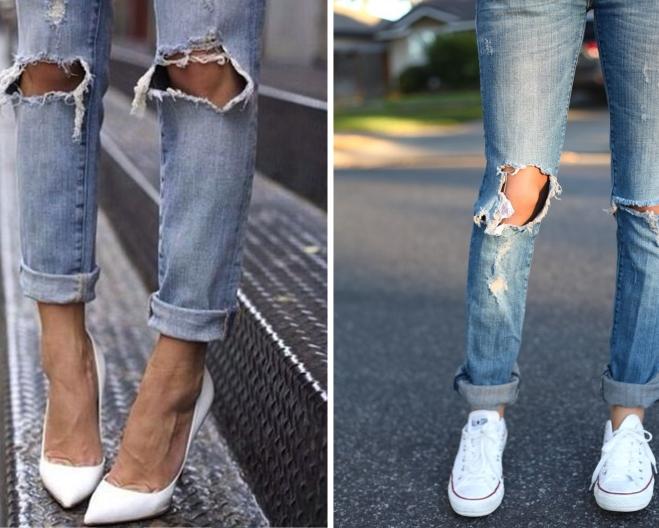 ripped jeans | Myra Madeleine