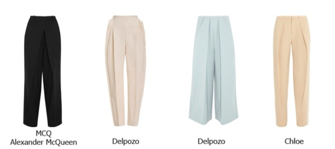 street style inspiration : front pleat pants   Myra Madeleine
