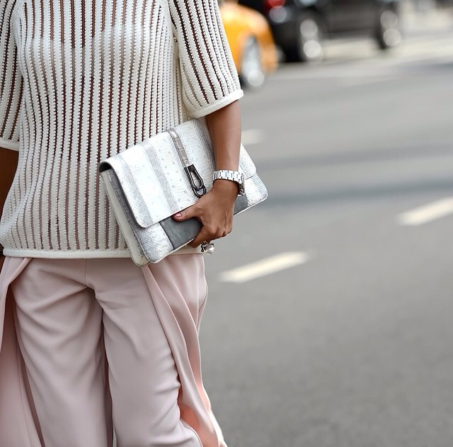 street style inspiration : front pleat pants | Myra Madeleine