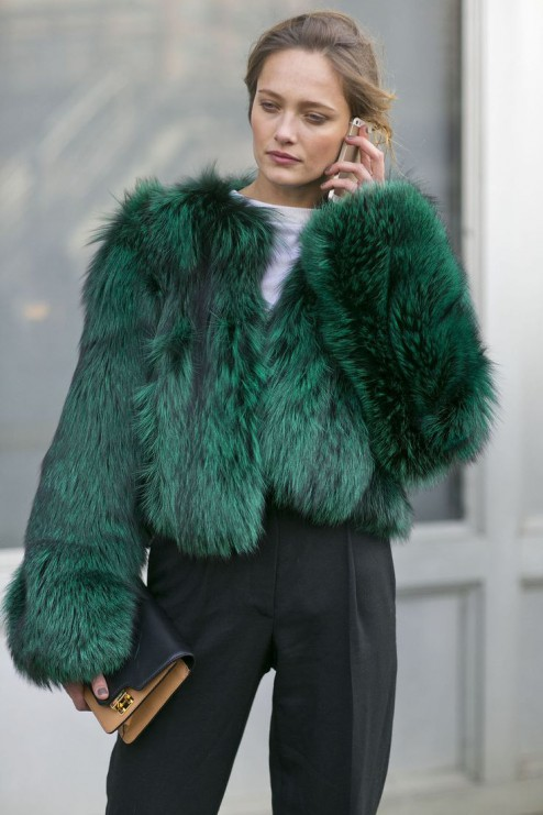 look fab in rich fur | Myra Madeleine