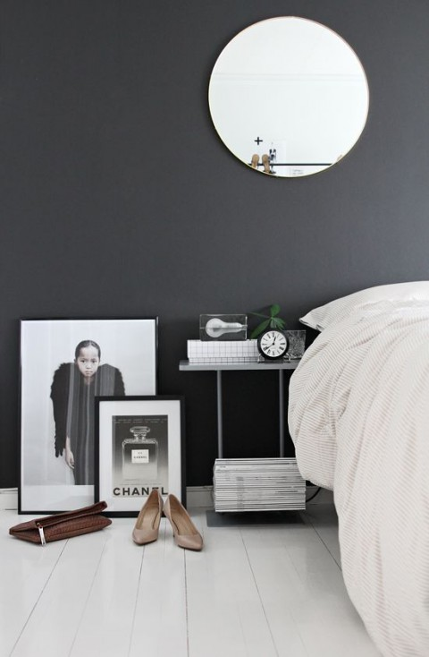 frames on bedroom floor | Myra Madeleine