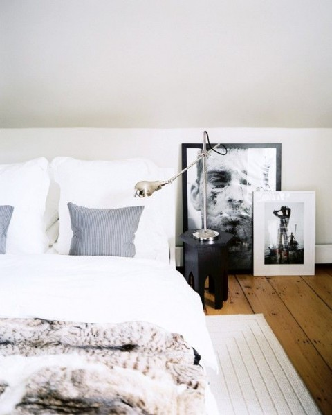 frames on the bedroom floor | Myra Madeleine
