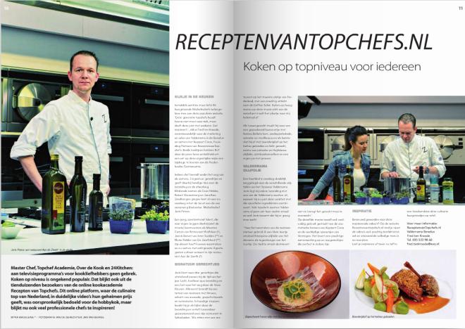 artikel in Hap & Tap magazine
