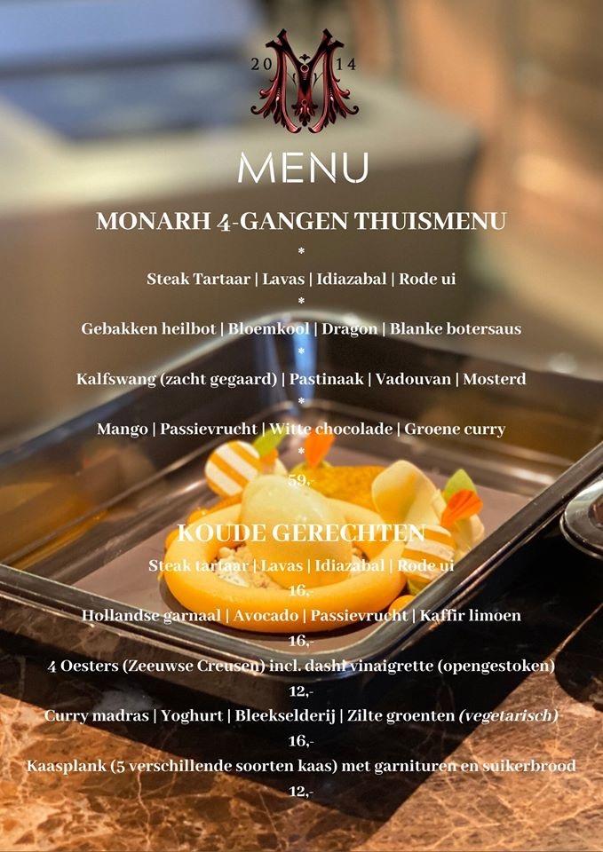 thuisbezorgen restaurant Monarh tilburg