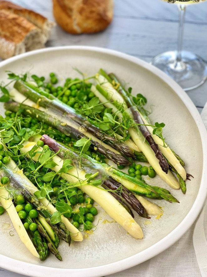 verrassende asperge salade