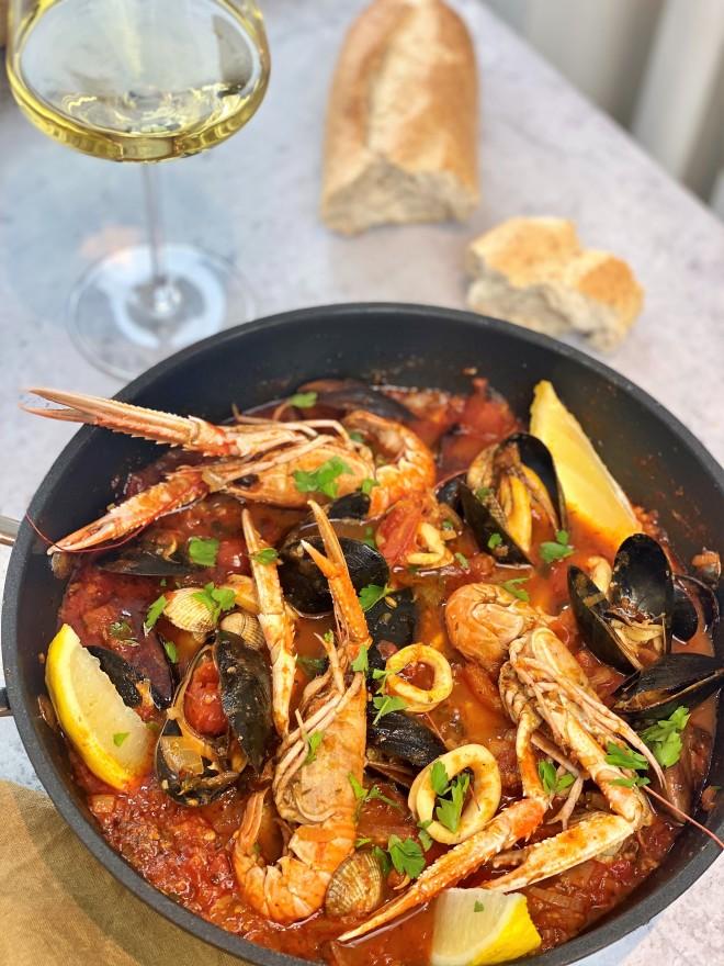 zarzuela recept met Nederlandse vis